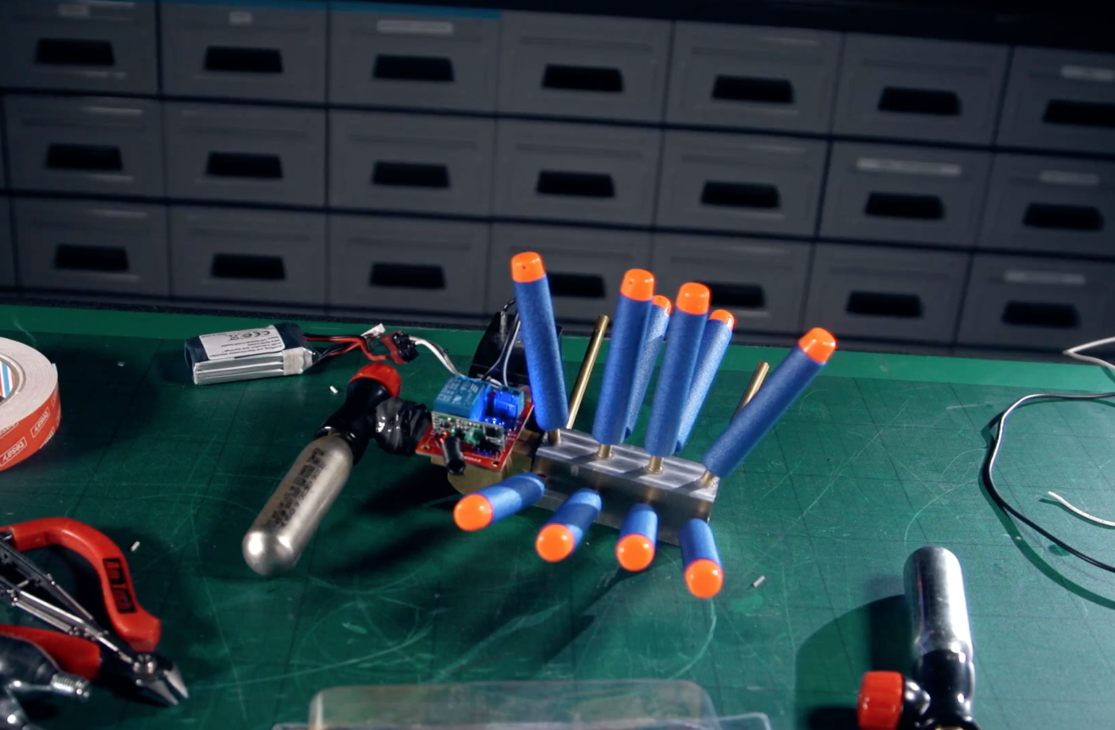 A Remote-Activated Nerf Grenade - Hackster Blog