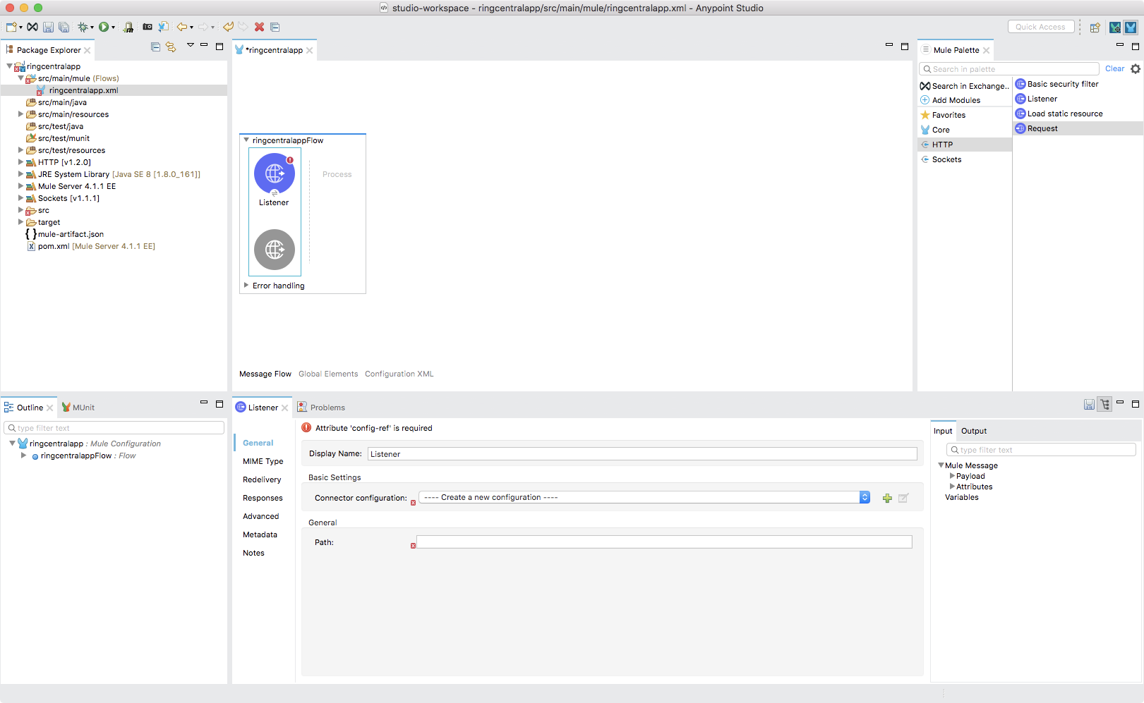 Integrating RingCentral Using MuleSoft - RingCentral