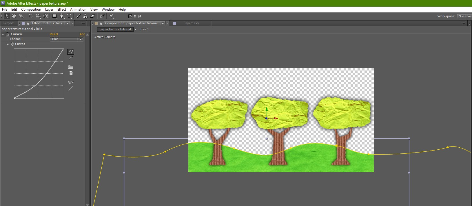 Create a Paper Cut-Out Animation with After Effects