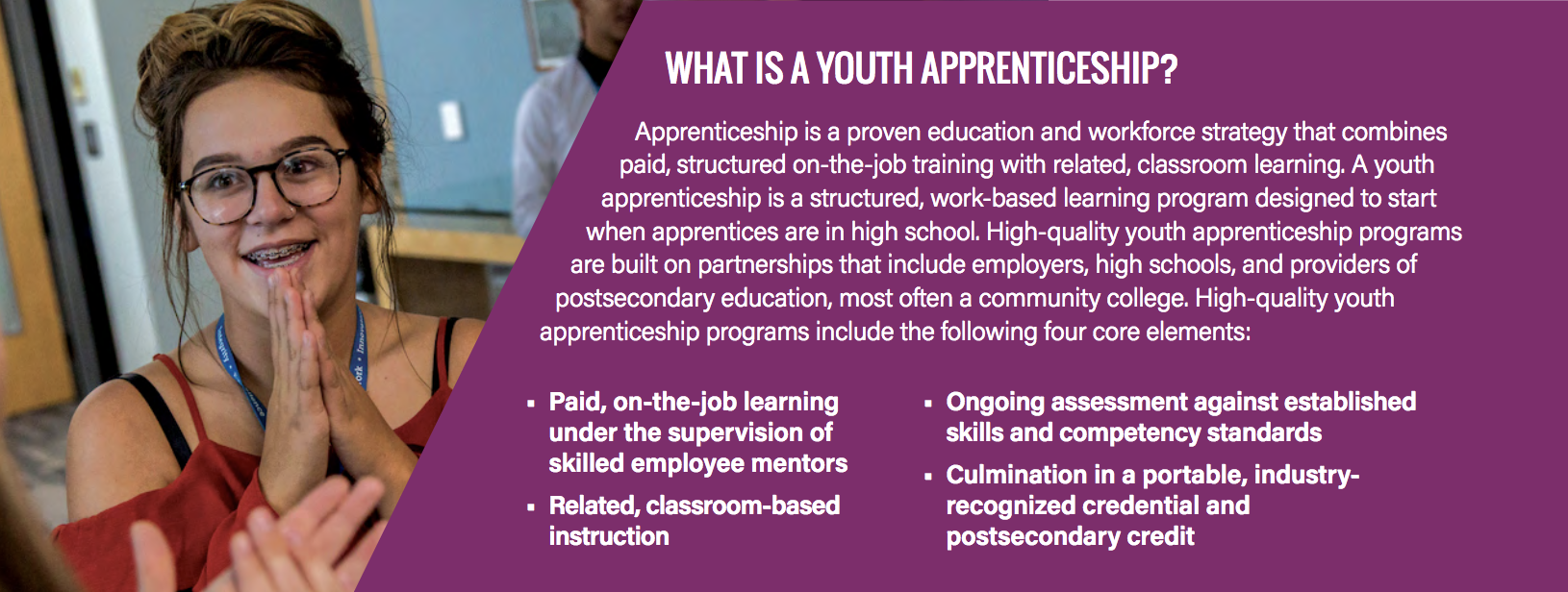 States' Role in Advancing High-Quality Youth Apprenticeship
