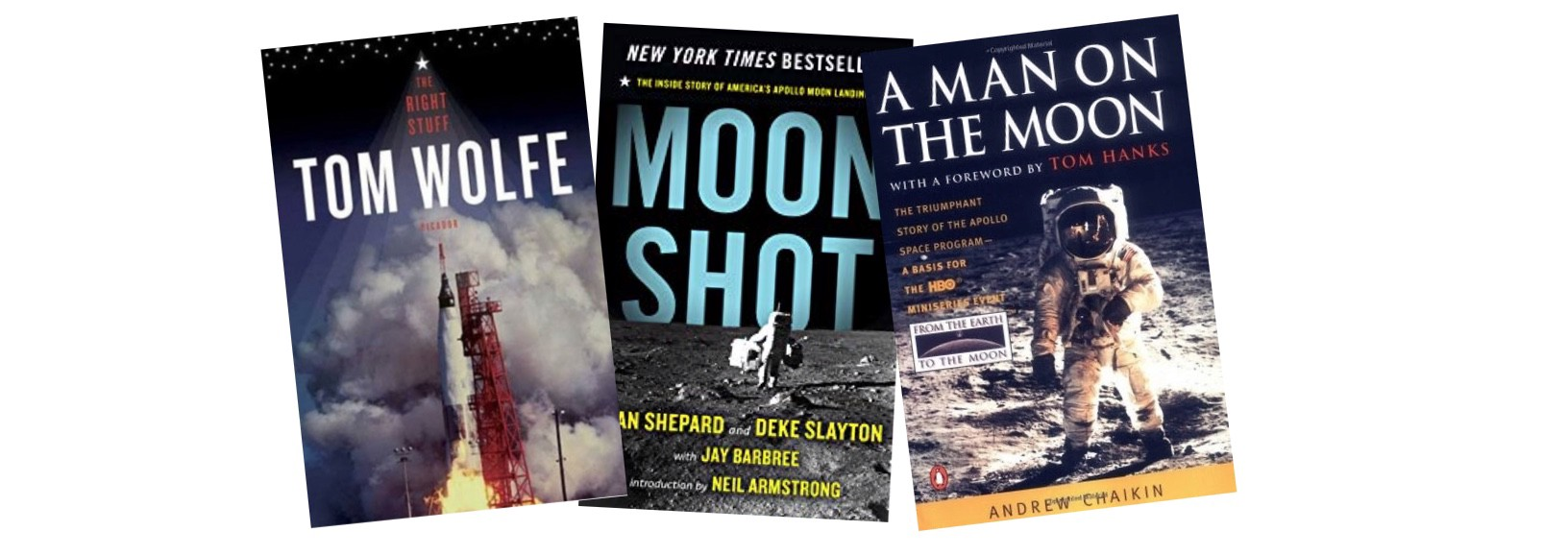 Great Books to Read for the Apollo 11 50th Anniversary