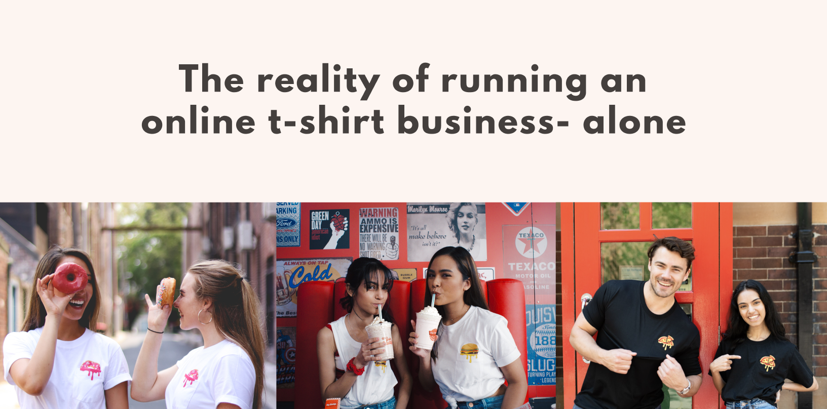 The reality of running an online t-shirt business- alone