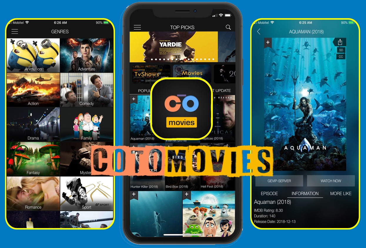 Free Movie Download on iOS- Coto Movies for iOS - MovieBox