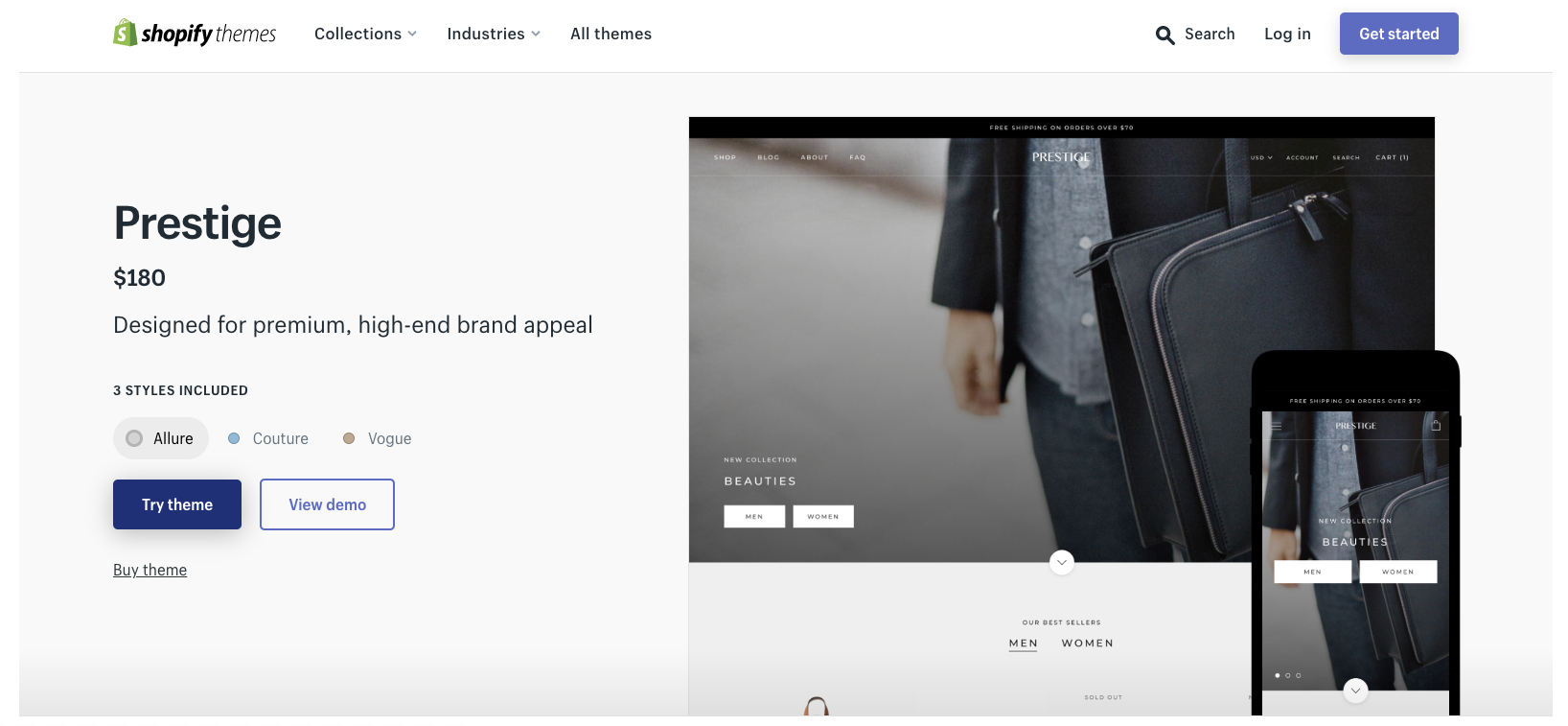 How to Set Up a Beautiful Shopify Store With the Parallax Theme