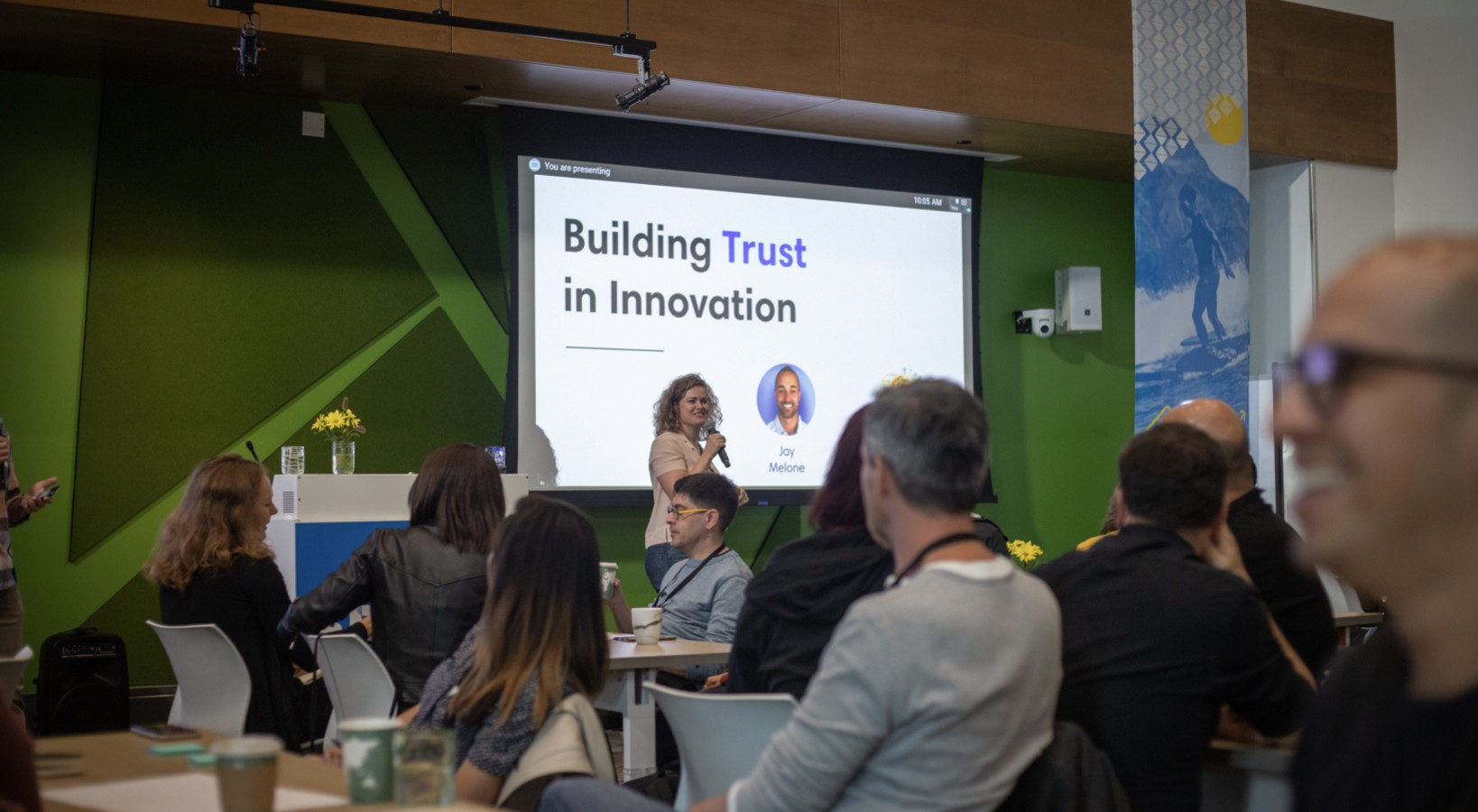 Google Sprint Conference—Building Trust in Innovation—Jay Melone and Holly May Mahoney