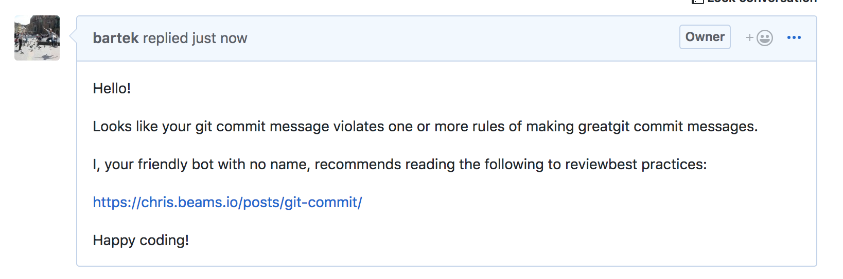 Things I learned making my first Github Action - G