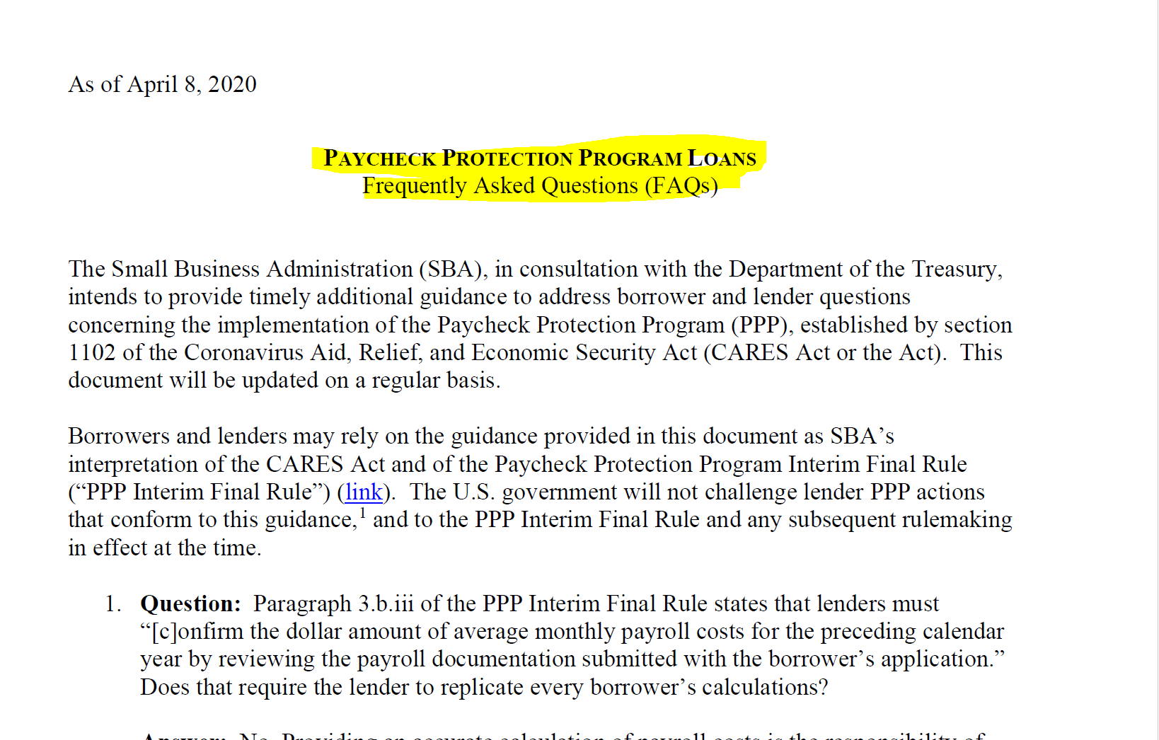 PPP. What is included in Payroll costs?   by George Benaroya   Medium