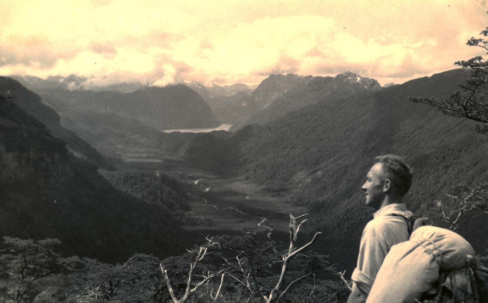 Dad as a young man in Patagonia