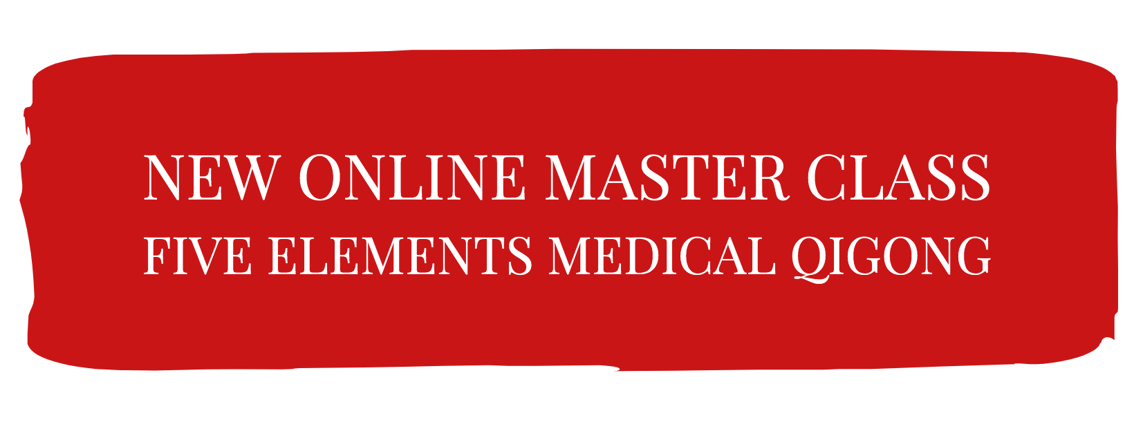We are thrilled to announce Five Elements Medical Qigong
