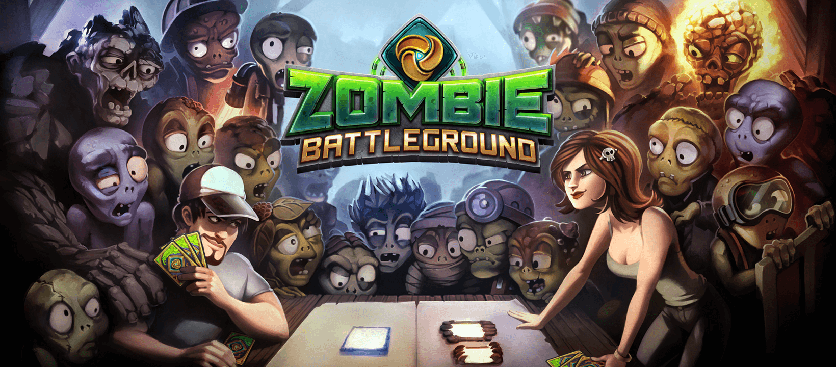 Introducing Zombie Battleground A Collectible Card Game