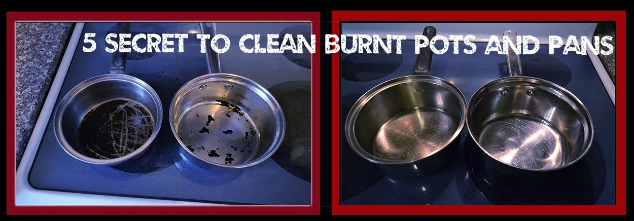 5 Secrets You Need To Clean Burnt Pots And Pans Andre Fosh