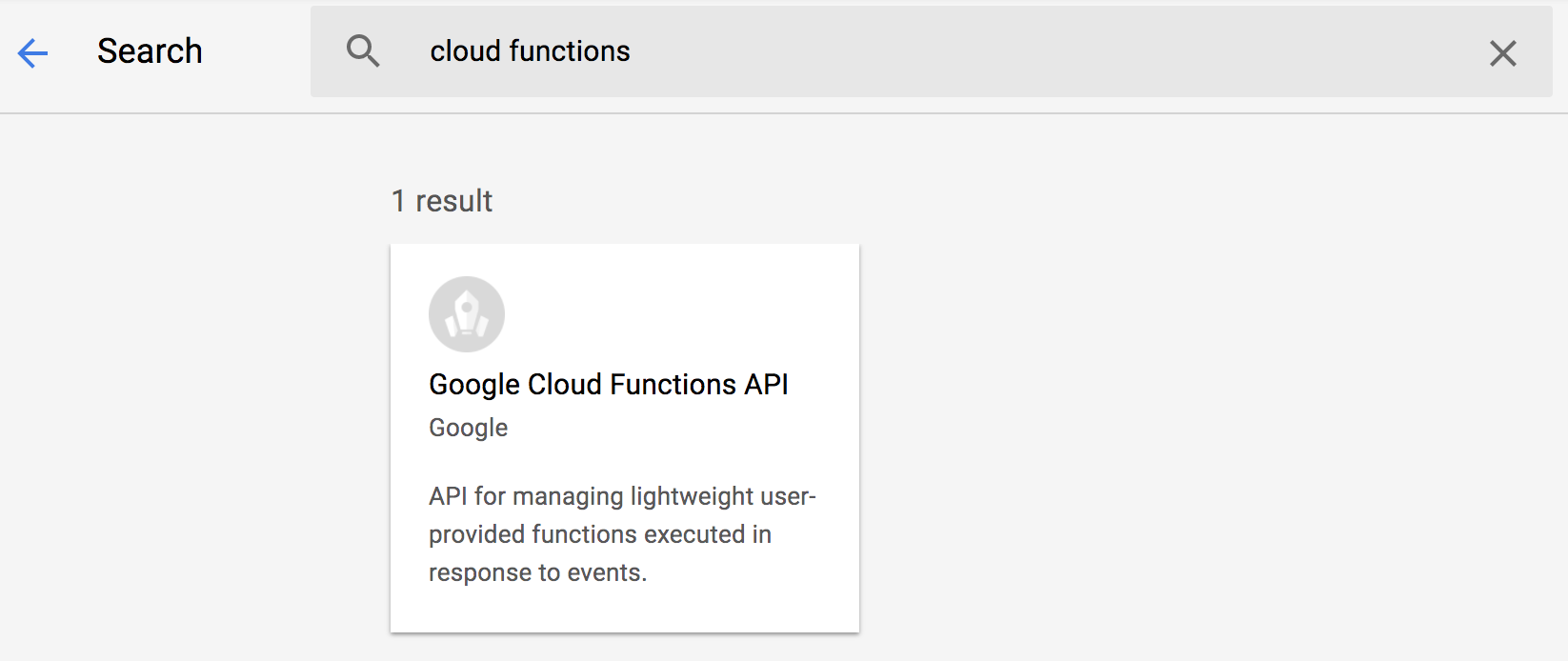 Tutorial : Flutter App powered by Google Cloud Functions