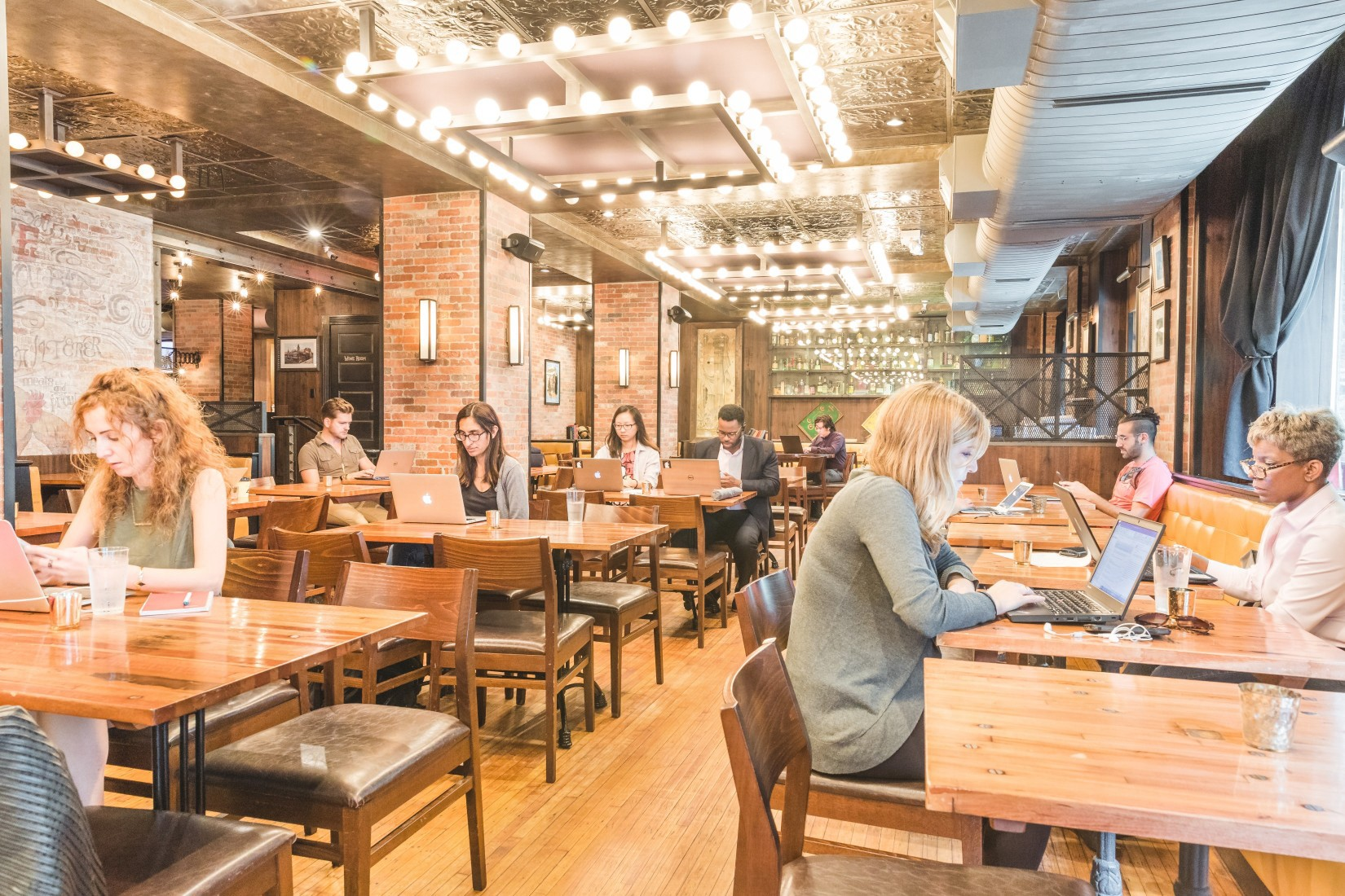 Cool Working Spaces In New York S Hottest Restaurants