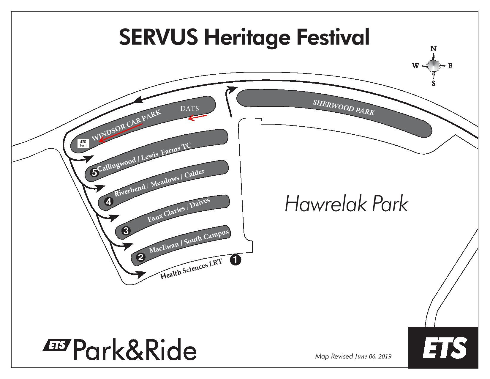 Heritage Festival 2019: University of Alberta Parking Guide