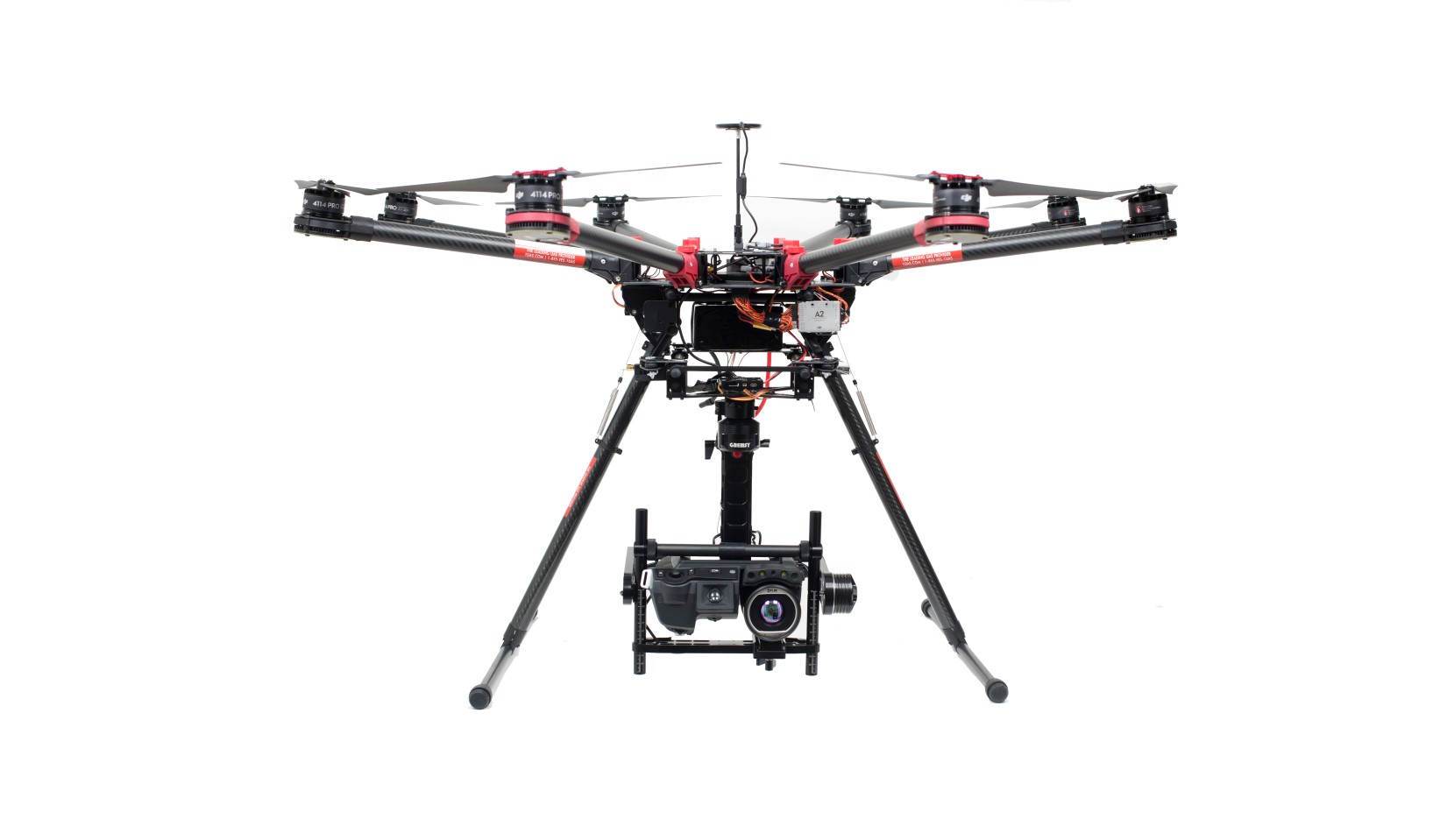 DJI S1000 and FLIR T640 Thermal Drone - Drones by