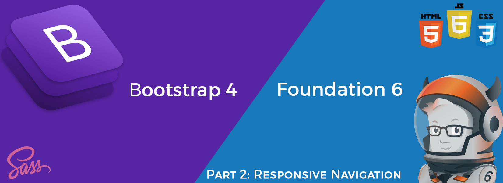 Part 2: Bootstrap 4 vs Foundation 6 4 — Responsive