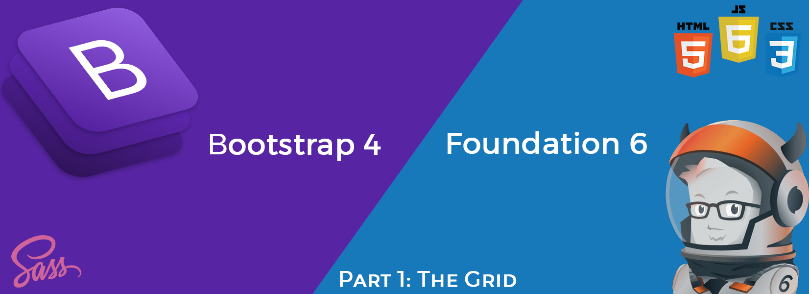 Part 1: Bootstrap 4 vs Foundation 6 4 — The Grid - codeburst