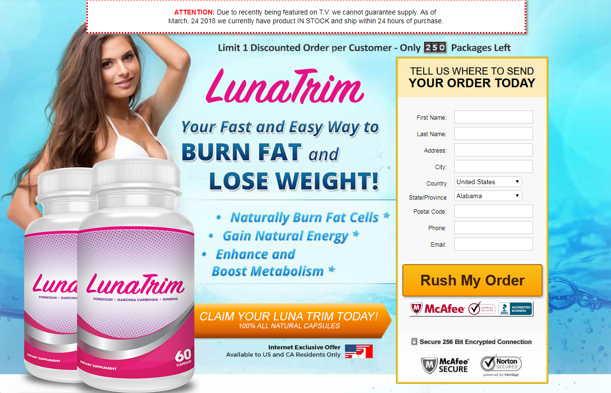 Luna Trim Reviews Burn Fat Easier Faster Than Ever