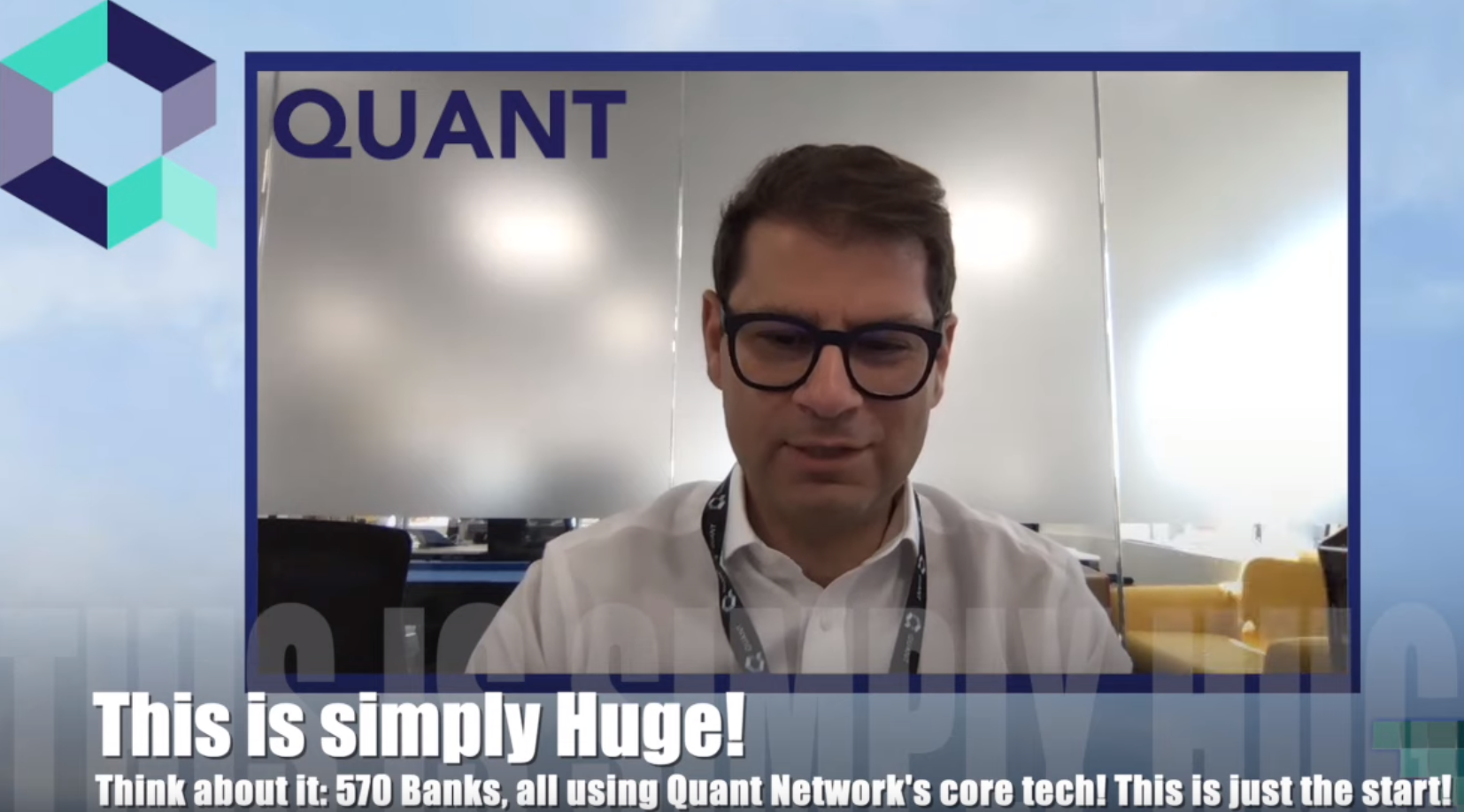 Blockchain Brad Interview with Quant Network CEO — 570 Banks, Rearchitecting the Financial System…