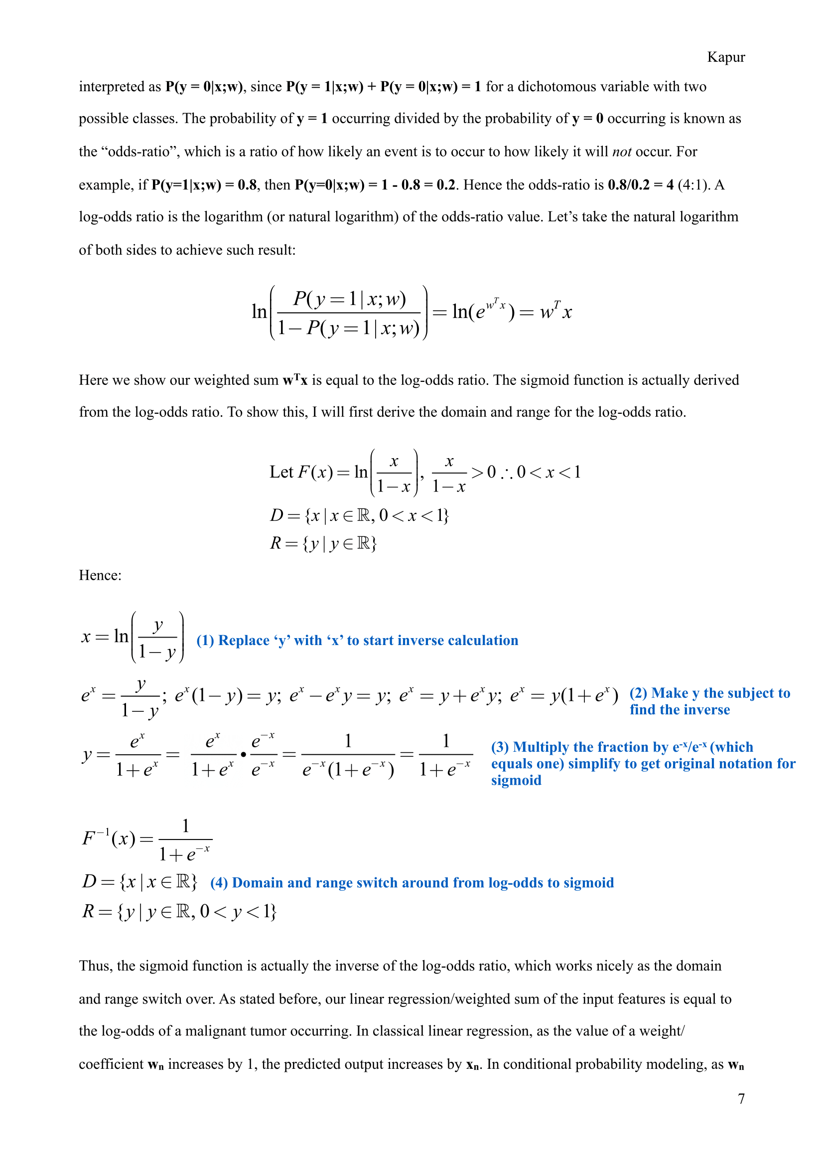 Rohan #6: The beautiful math behind logistic regression