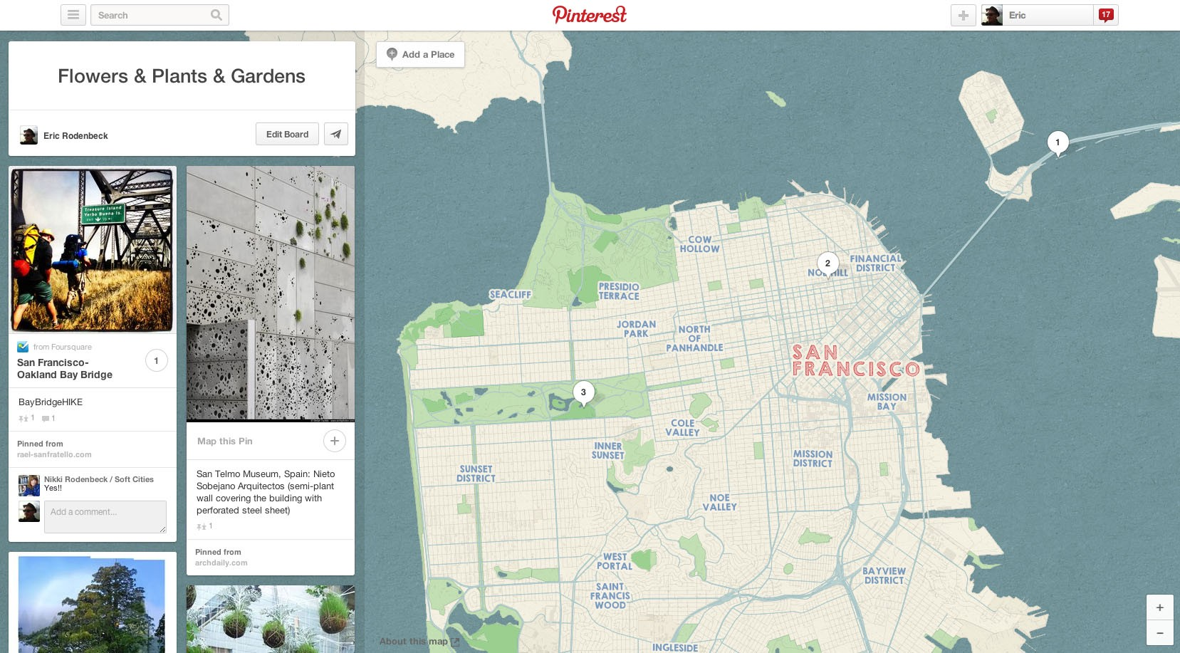 Pinterest has maps! By us! - Hi.Stamen