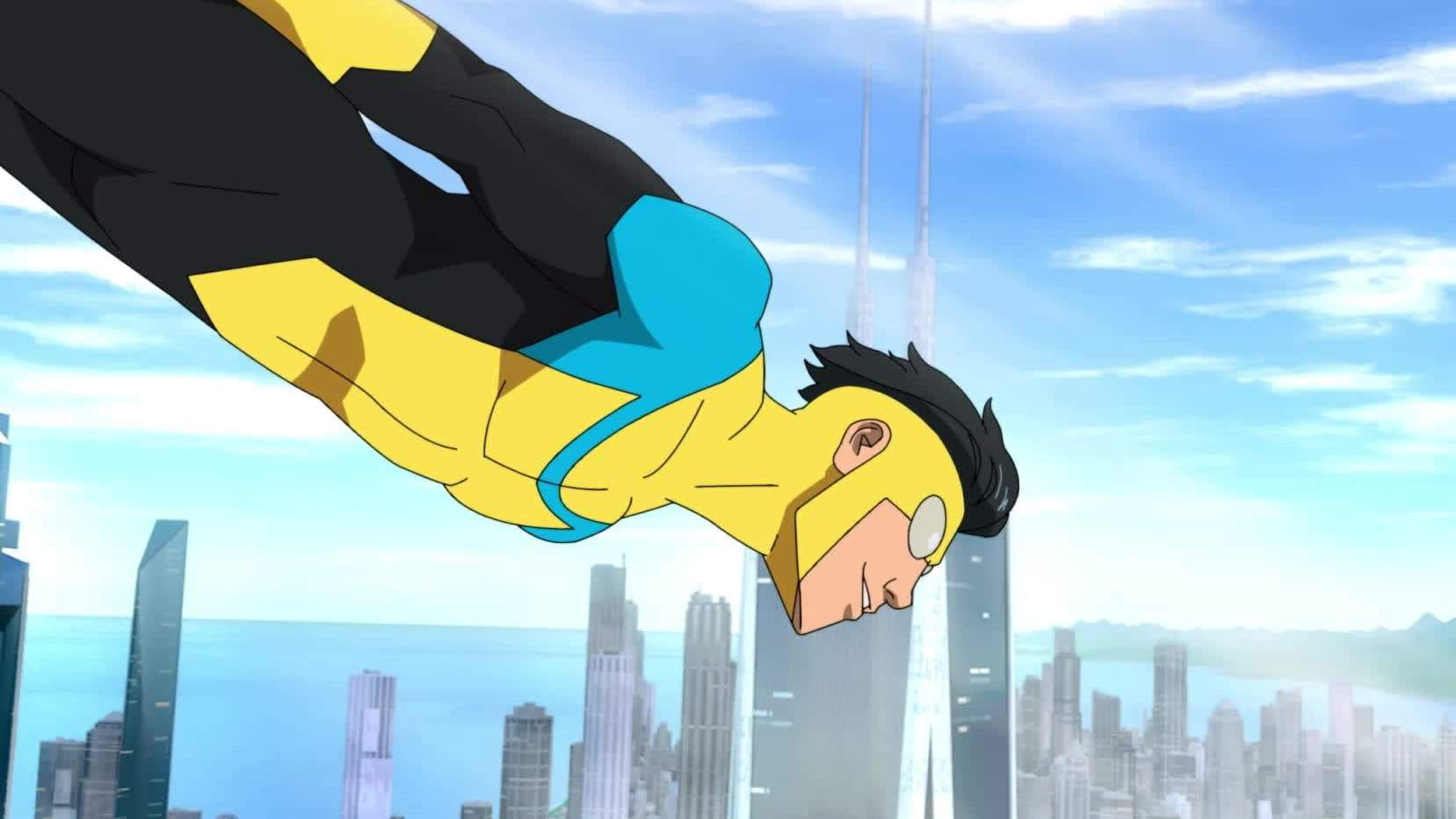 """Steven Yuen voices the main character in Amazon Prime's 'Invincible."""""""