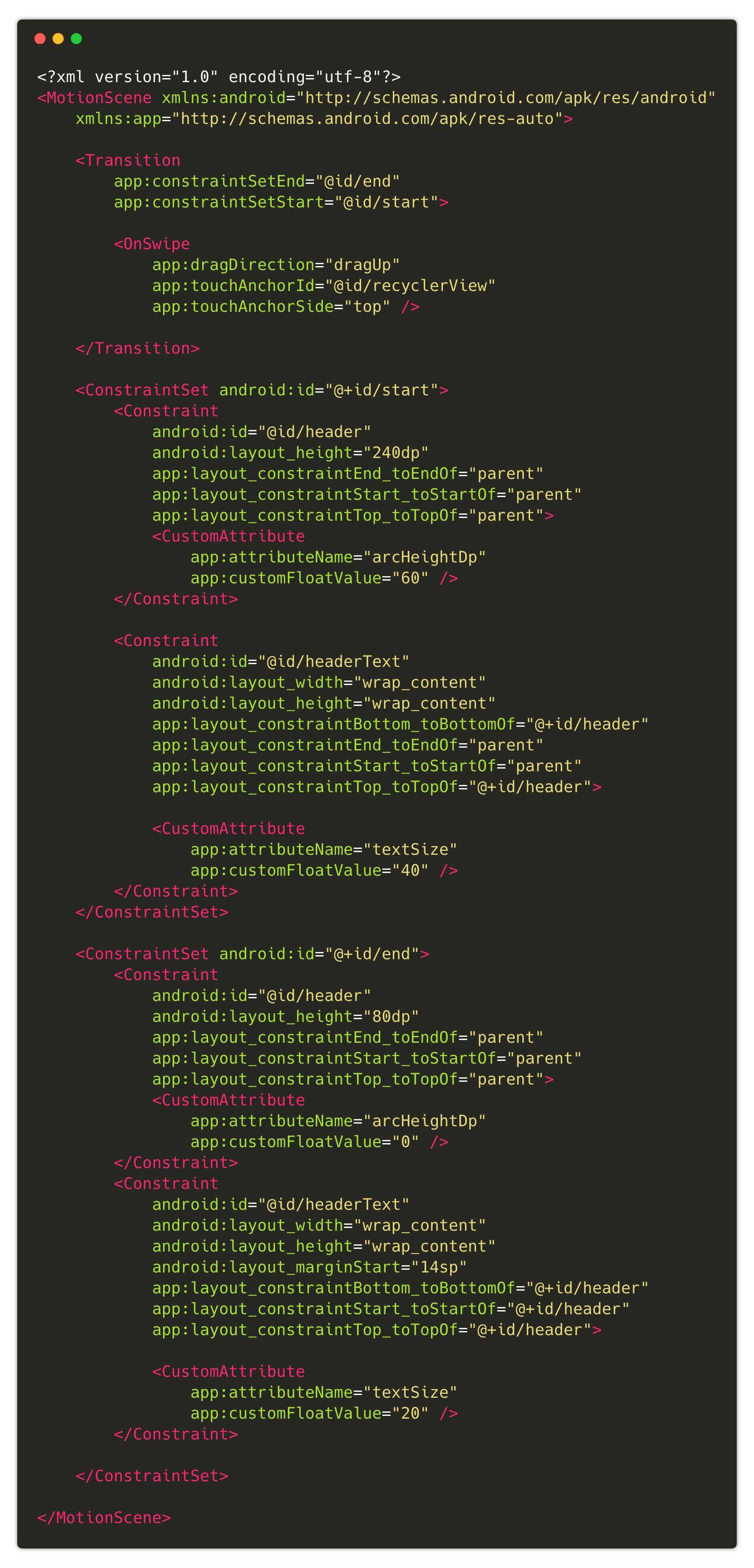 MotionLayout + ShapeOfView = 😍 - ProAndroidDev