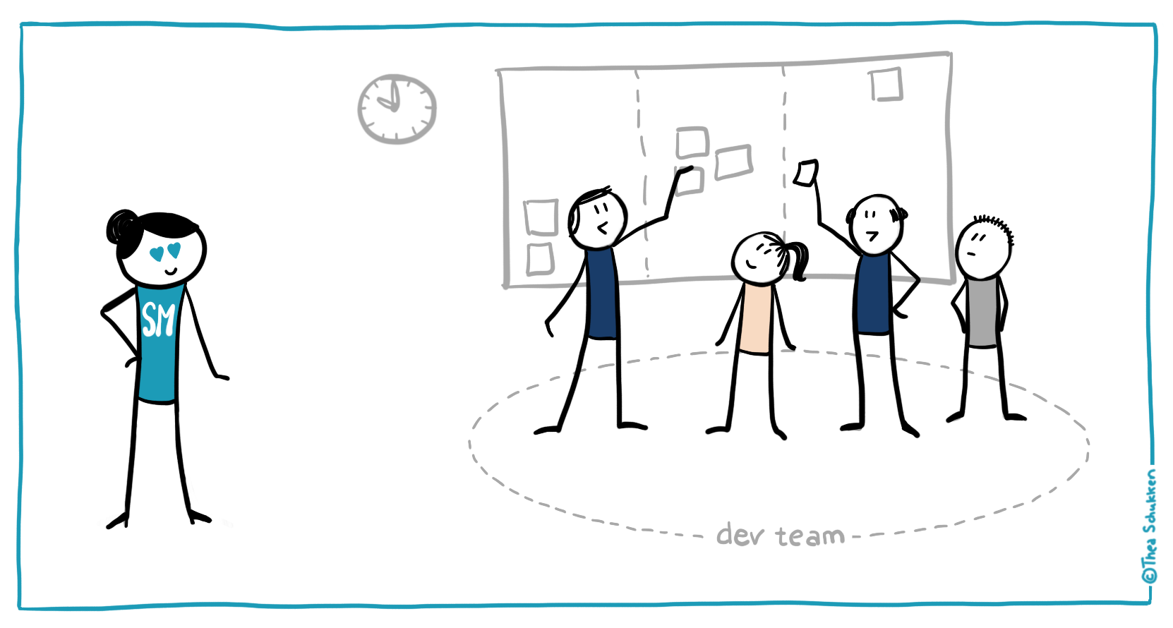 Myth: The Scrum Master must be present during the Daily Scrum | by  Christiaan Verwijs | The Liberators | Medium