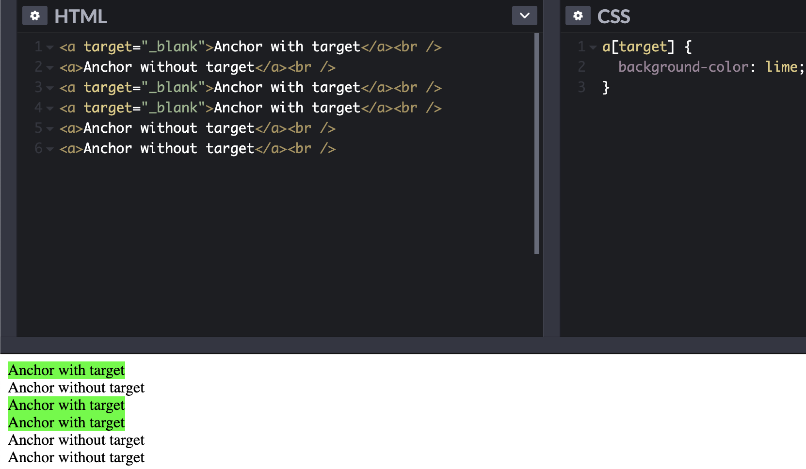 By Attribute - css tips and tricks 2020