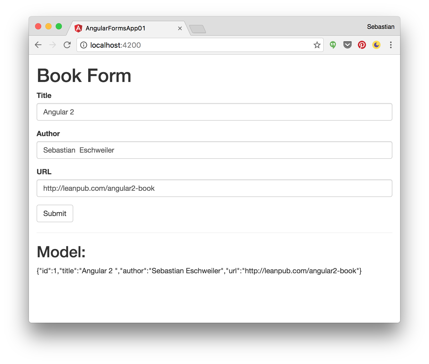Angular 2 Forms — Tutorial — Introduction