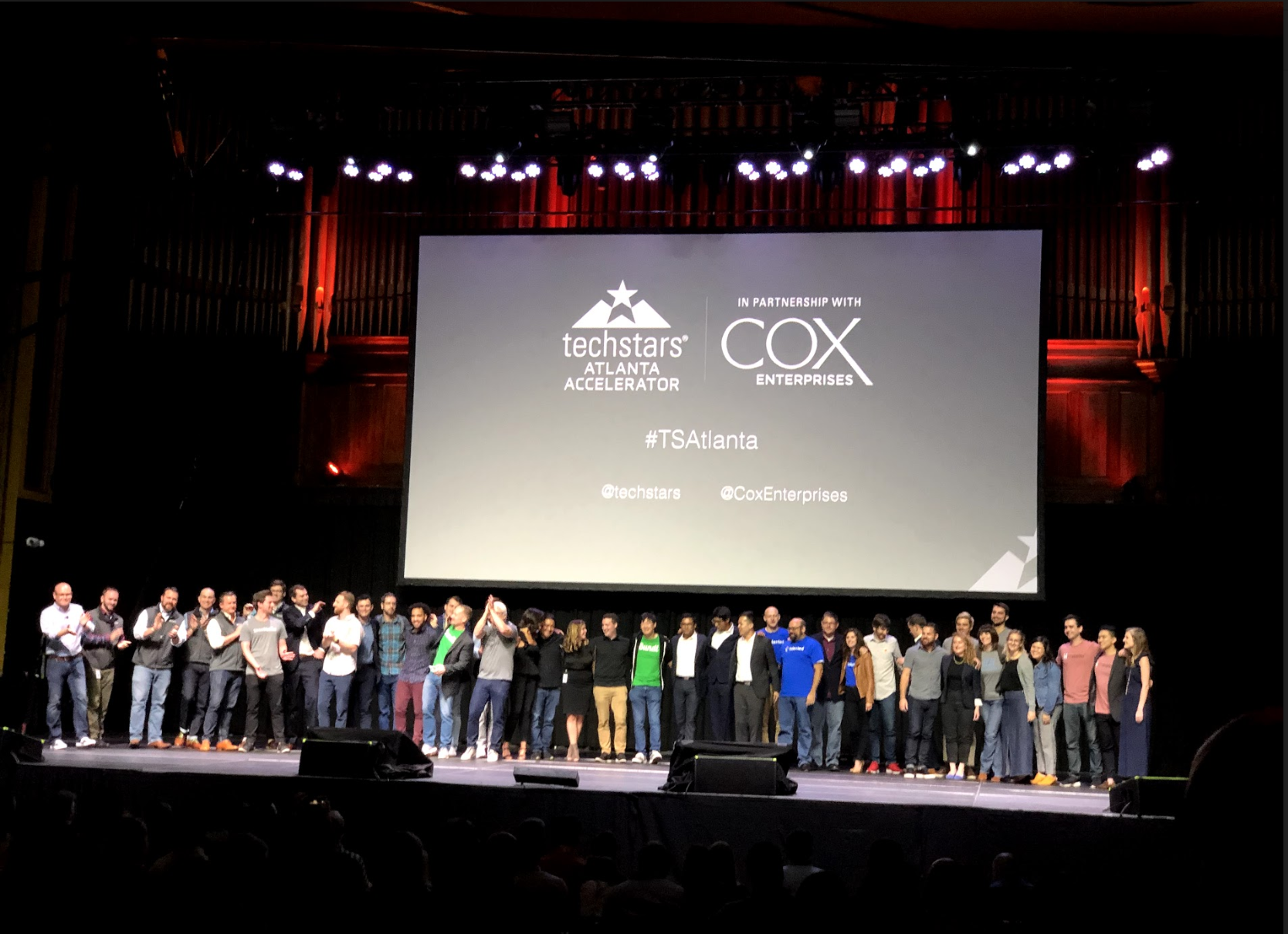 Techstars Atlanta 2019 Demo Day at the Tabernacle