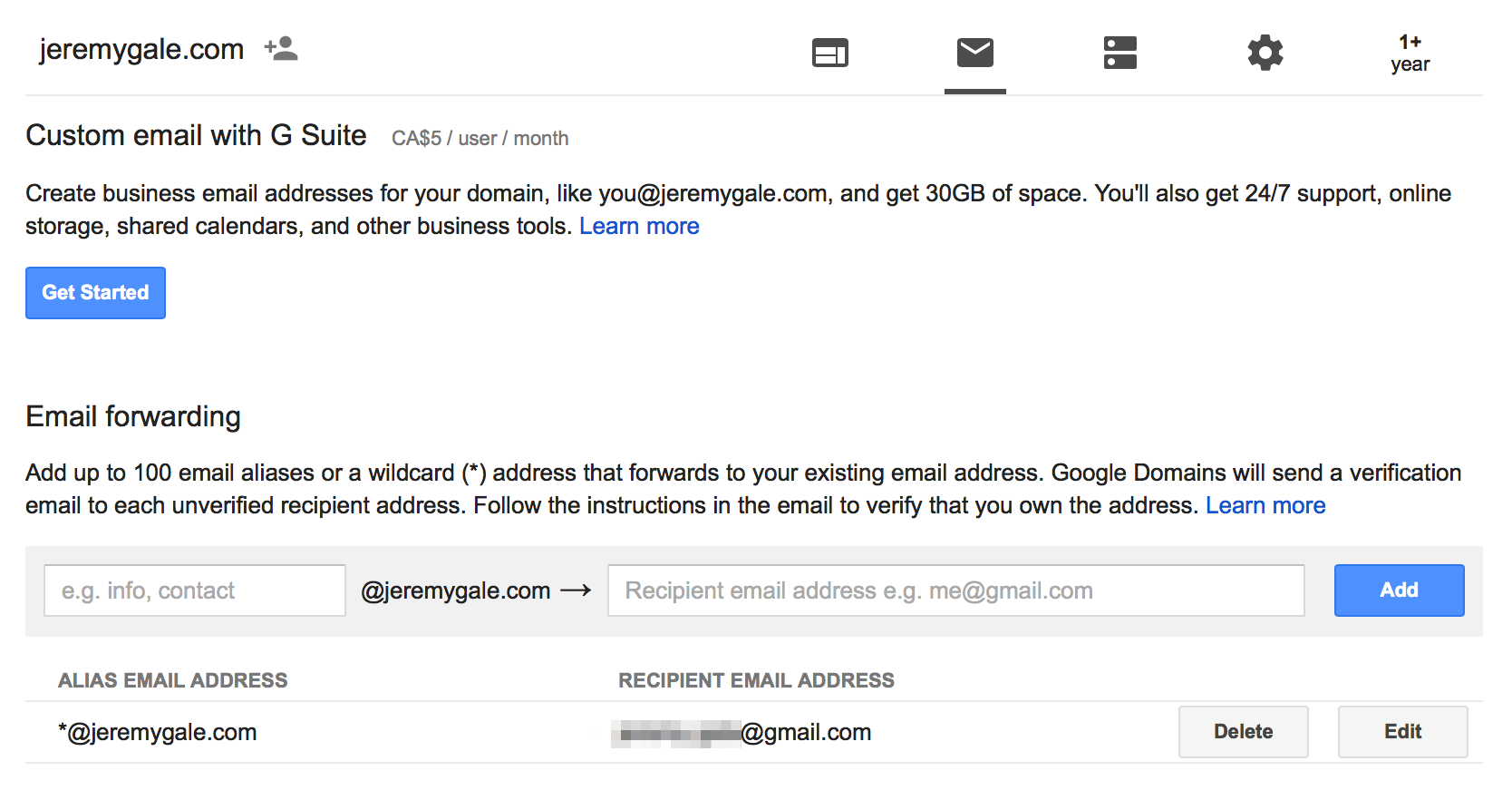 Add Email On Gmail how to setup a custom domain for your gmail address