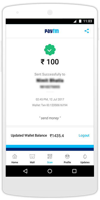 What if …Paytm mock app is used to make payments ? - Avinash
