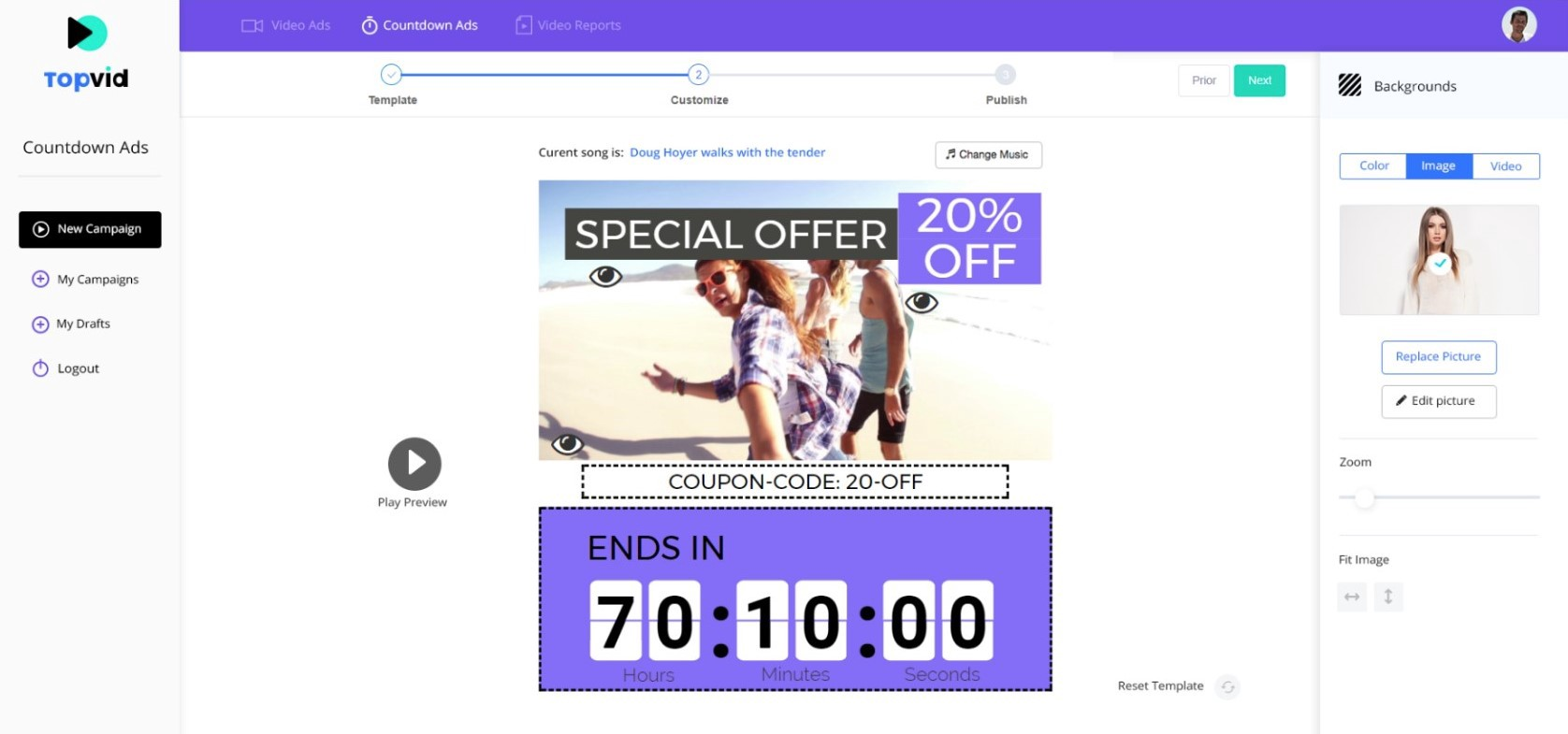 Getting started with — Facebook Countdown Ads - TopVid - Medium