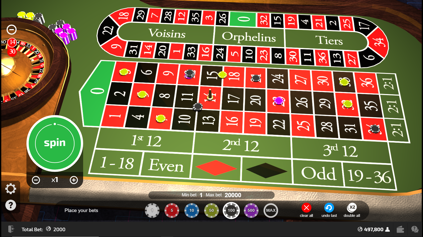 Calculate craps odds payouts