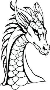 Dragon Coloring Pages For Kids Dragon Drawings By Wow Rules Medium