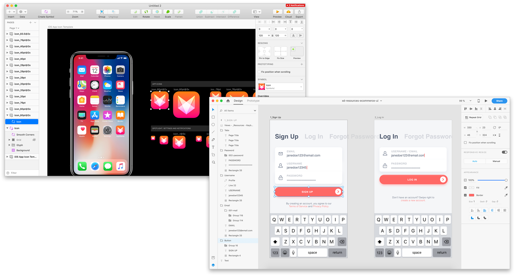 Design Tool Showdown — Adobe XD vs  Sketch (2019) - UX Planet