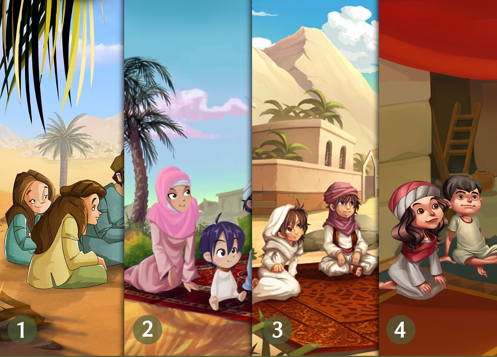 Teach the Life of the Prophet Muhammad to Children with the Seerah App