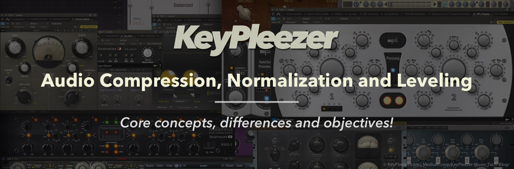 Audio compression vs  normalization and leveling