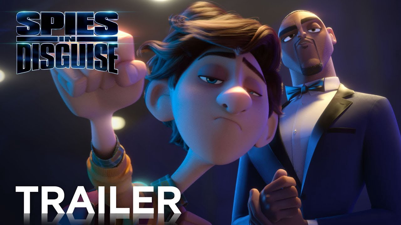 Animation Cartoon Full Movie animation movies 2019] 'spies in disguise' — [full film