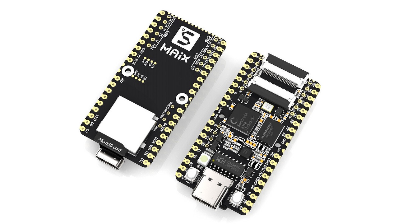 Sipeed Launches Several MAIX RISC-V 64 Development Boards
