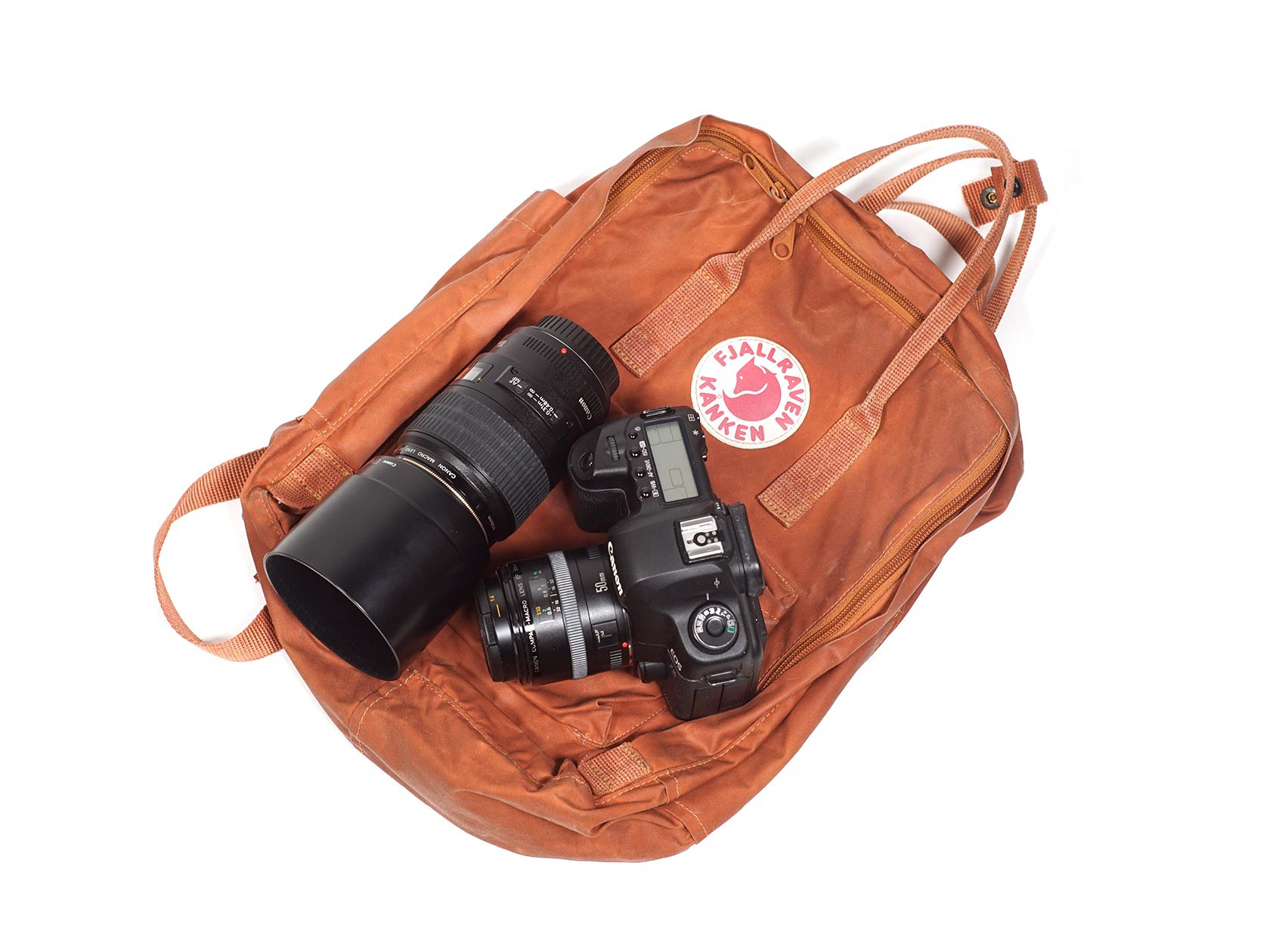 Diy Camera Bag From Any Backpack