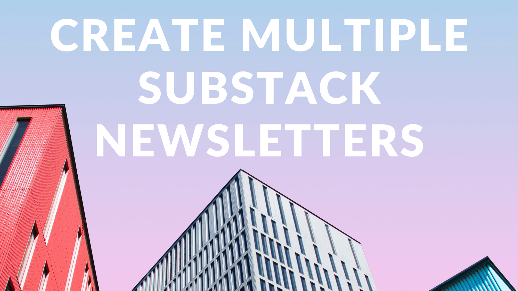 create multiple publications same substack account, create multiple substack publications, create another substack newsletter