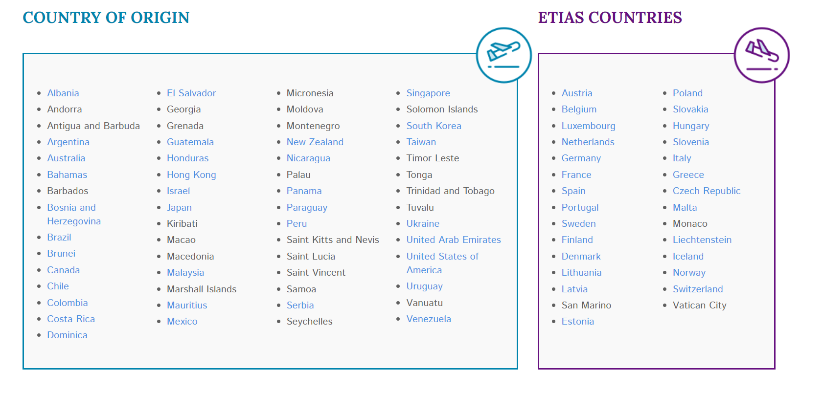 Which Countries Do Not Need A Visa To Travel To Europe By Online Visa Medium