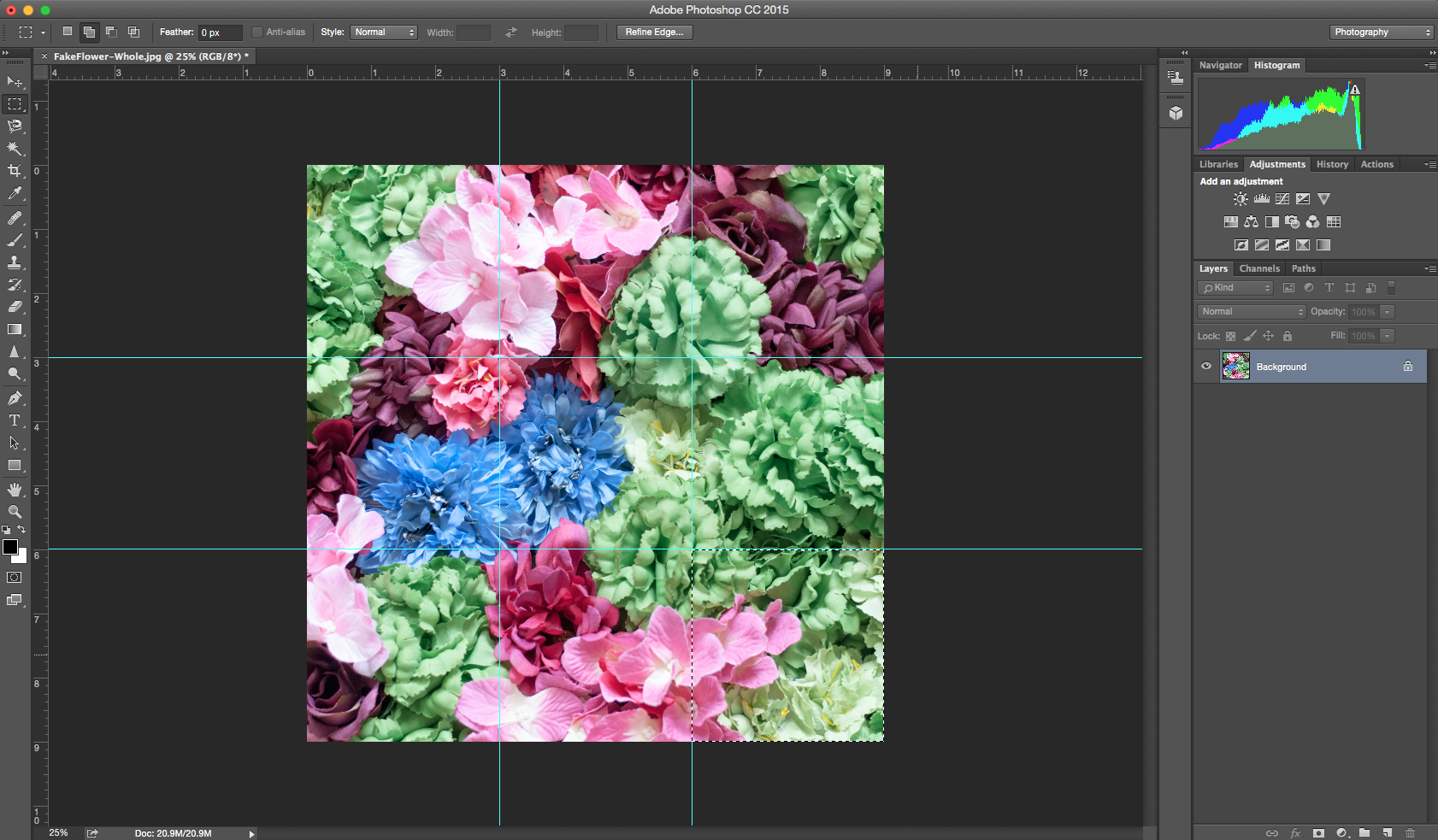 Photo Grid For Instagram With Photoshop Cc 2015 Part 1 By Aaron Brumbelow Medium