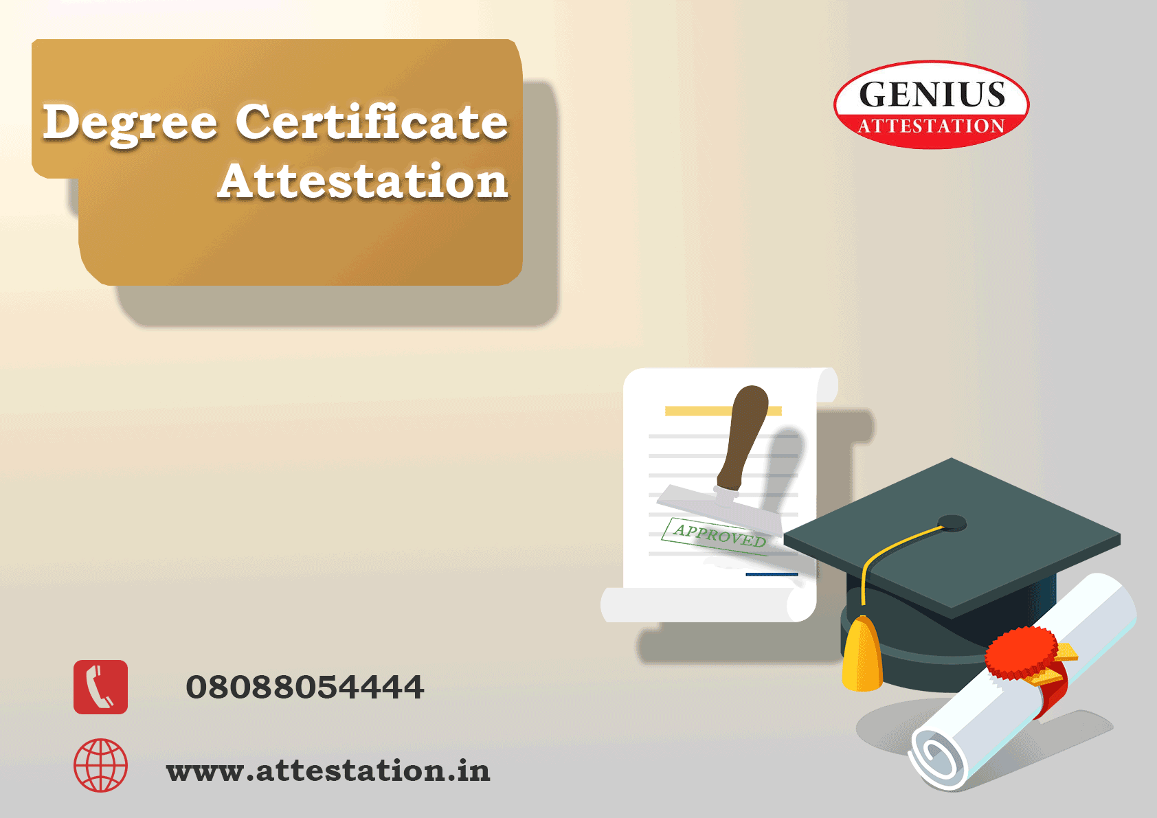 How To Get Degree Certificate Attestation By Genius Attestation Medium