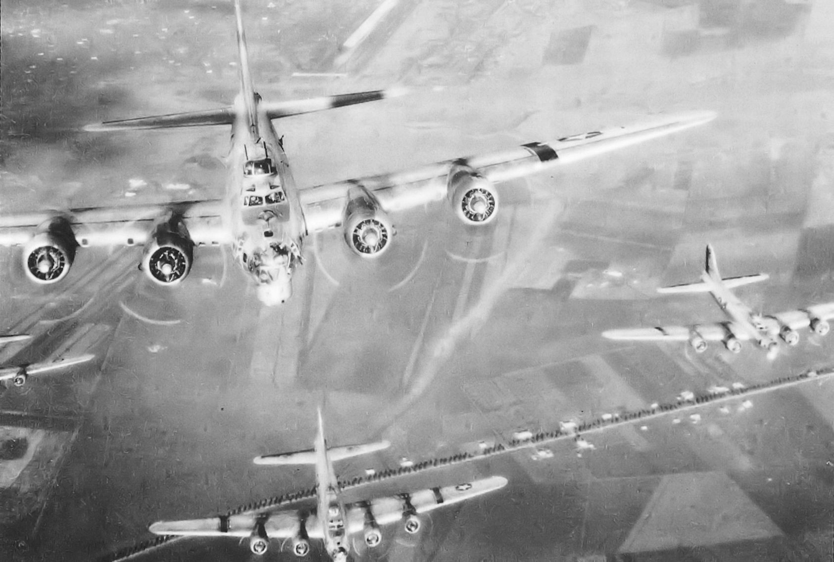 In 1943, Piloting a Flying Fortress Over Italy Was One