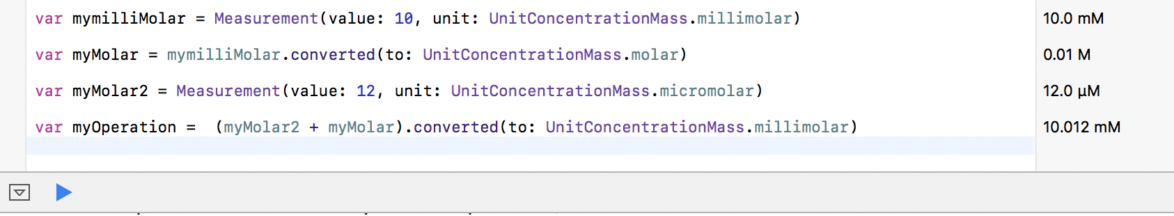 unitconcentrationmass-molar-example