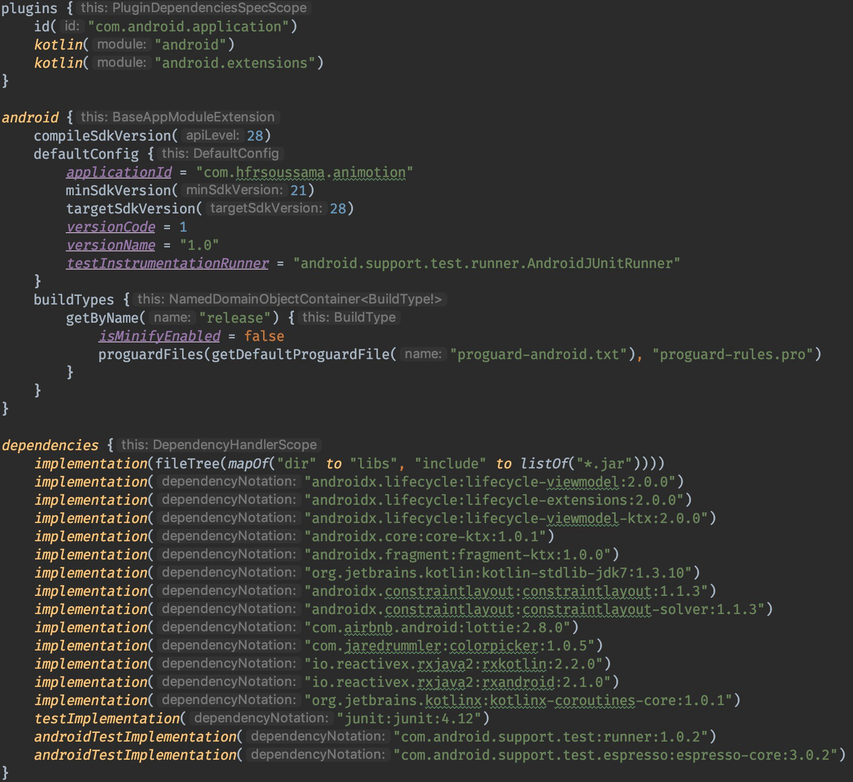 Migrating Android build scripts from Groovy to Kotlin DSL