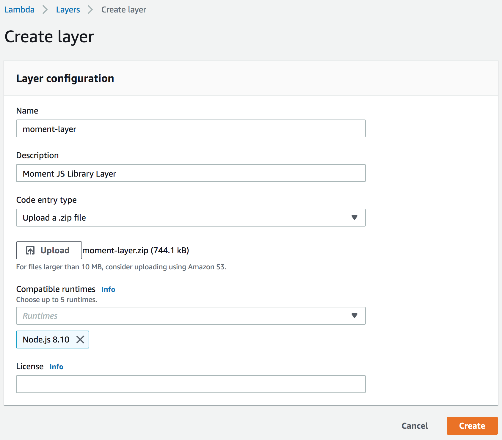Part 1 — Getting started with AWS Lambda Layers - AppGambit